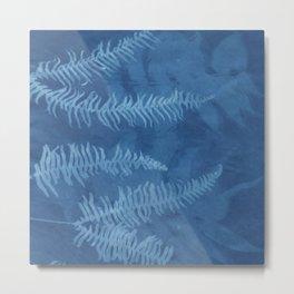 Cyanotype 3 Metal Print