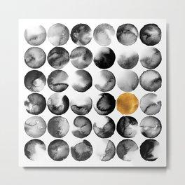 Cosmopolitan Abstract Metal Print