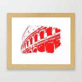 Way of the Warrior - Roman Colosseum Framed Art Print