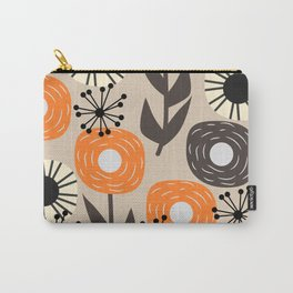 Some happy flowers Carry-All Pouch