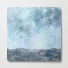 Mystic Mountains Metal Print