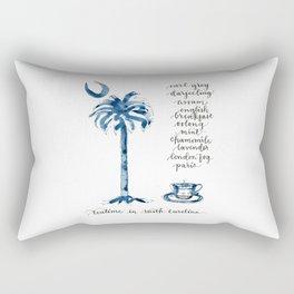 Teatime in South Carolina Rectangular Pillow