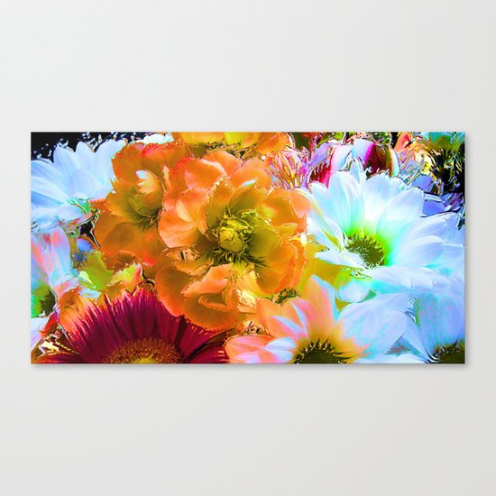 Tropical Coctail Canvas Print