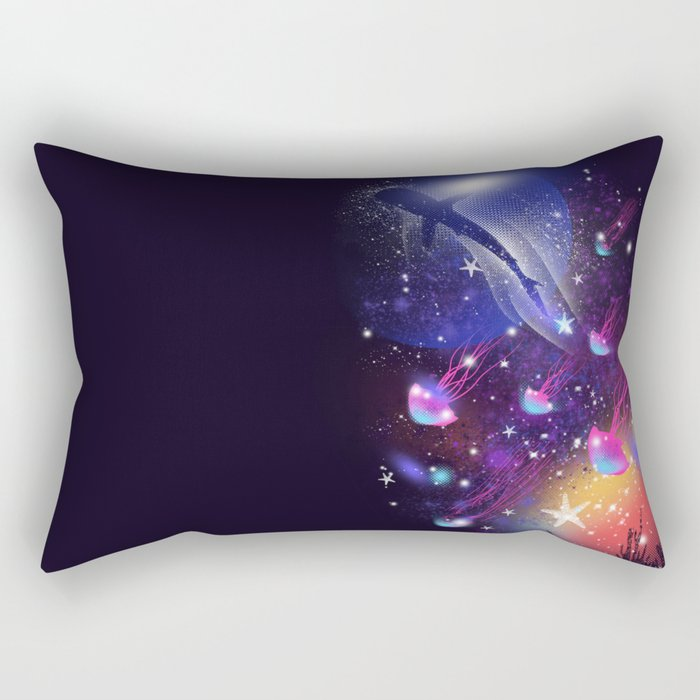Cosmic Sea Rectangular Pillow