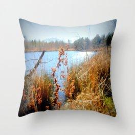 Peaceful Nature Throw Pillow