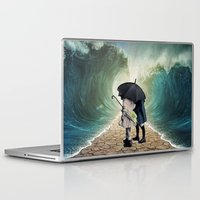 waves Laptop & iPad Skins featuring Waves by Cs025