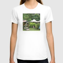 Fruit Stand in Tropical French Polynesia T-shirt