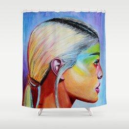 Sweet Ariana Shower Curtain