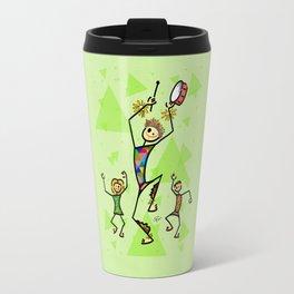 Carnival harlequin Travel Mug