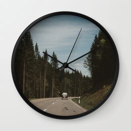 Just Married (I) Wall Clock