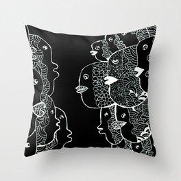 fish storie Throw Pillow