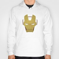 ironman Hoodies featuring Ironman by Liquidsugar
