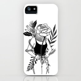 Let me bloom Ⅱ iPhone Case