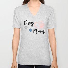 Dog Mom Unisex V-Neck