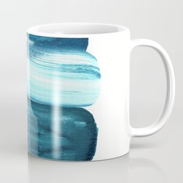 Minimalist Teal Blue Coffee Mug
