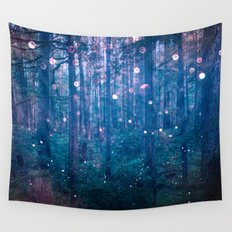 Fairy Lights Wall Tapestry
