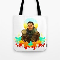 mad max Tote Bags featuring Mad Max by chazstity