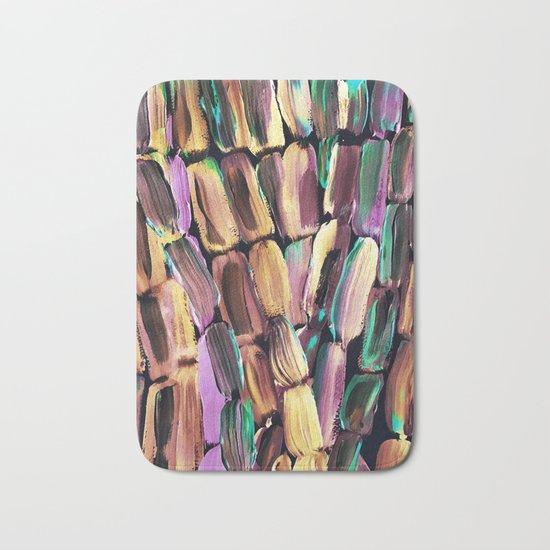 Neon Nighttime Sugarcane Bath Mat