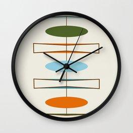 Mid-Century Modern Art 1.2 Wall Clock
