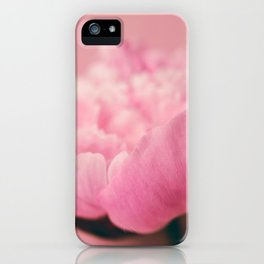 Pink Peony Love II iPhone Case