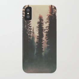 Smokey Forest iPhone Case