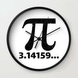 Pi 3.14159 Wall Clock