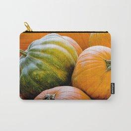 Fall: Green Pumpkin Carry-All Pouch