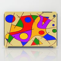 kandinsky iPad Cases featuring Abstract #206 by Ron Trickett