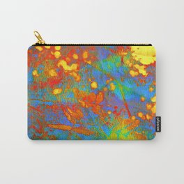 bright abstract leaves Carry-All Pouch
