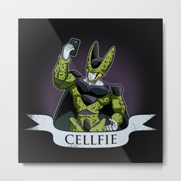 Cellfie Metal Print