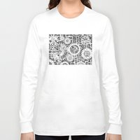 steampunk Long Sleeve T-shirts featuring Steampunk by Squidoodle