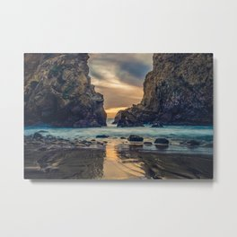 Touch of the Sea Metal Print