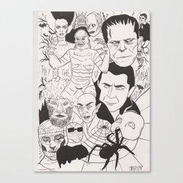 Hammer Horror Canvas Print