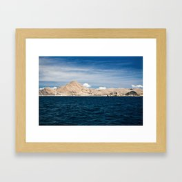 Flores by Boat Framed Art Print