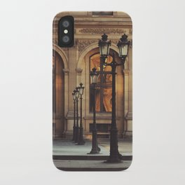 Paris lights iPhone Case