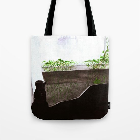 """""""Give Up"""" by Cap Blackard Tote Bag"""