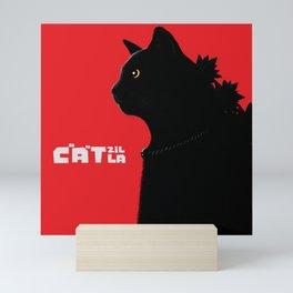 Catzilla Mini Art Print