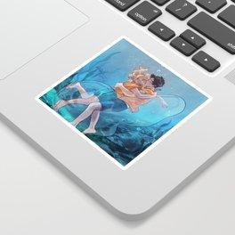 The best underwater kiss Sticker