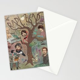 The King Of Limbs Stationery Cards