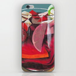 Fruit cocktail iPhone Skin