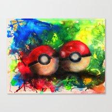 pokeball Canvas Print