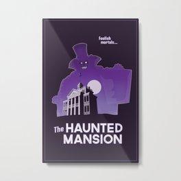 Hatbox Ghost - Land Metal Print