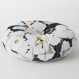 Magnolia Midnight Floor Pillow