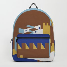 Come to the islands retro travel Backpack