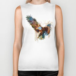 Free and Deadly Eagle Biker Tank