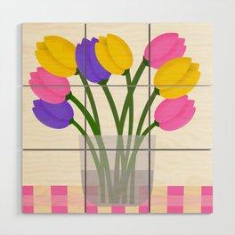 Happy Spring Wood Wall Art