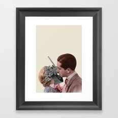 Electro-Romantic Framed Art Print