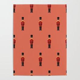 Christmas nutcrackers Poster