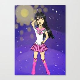 Seira as sailor scout Canvas Print