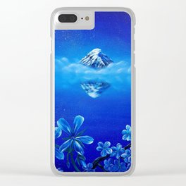 Magical Mountain Clear iPhone Case